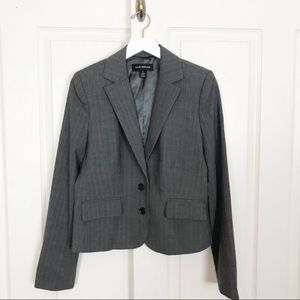Club Monaco Pinstriped Wool Blazer